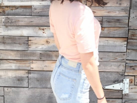 IMG_concihairge-philly-blogger-home-hair-blow-out-cut-style-philadelphia-tired-as-a-mother-shirt-mom-jeans-ripped-denim-ag-phoebe-denim-rebecca-minkoff-khaki-bucket-bag-chloe-bucket-bag-soludos-striped-slip-ons-espadrilles
