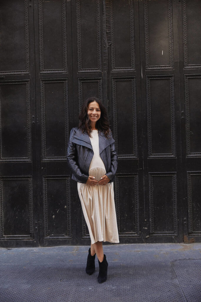 the sunday edit Zara dresses that can be used for maternity, long beige knit dress